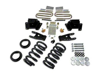 Belltech Stage 1 Lowering Kit - 1 in. or 2 in. Front / 3 in. Rear (00-03 F-150 Harley Davidson)