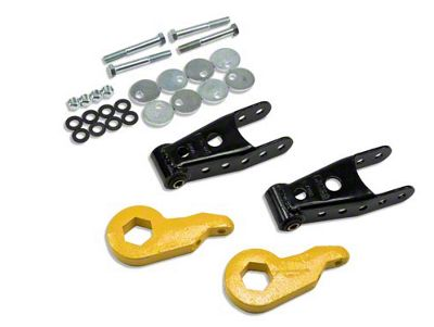 Belltech Stage 1 Lowering Kit - 1 in. or 3 in. Front / 2 in. Rear (97-03 4WD V8 F-150)