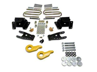 Belltech Stage 1 Lowering Kit - 1 in. or 3 in. Front / 3 in. Rear (97-03 4WD V8 F-150)