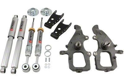 Belltech Stage 3 Lowering Kit w/ Street Performance Shocks - 2 in. Front / 2 in. Rear (04-08 2WD F-150)