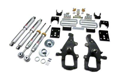 Belltech Stage 3 Lowering Kit w/ Street Performance Shocks - +1 in. to - 4 in. Front / 5.5 in. Rear (04-08 2WD F-150)
