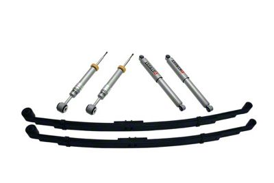 Belltech Stage 3 Lowering Kit w/ Street Performance Shocks - +1 in. to - 3 in. Front / 3 in. or 4 in. Rear (04-08 2WD/4WD F-150)