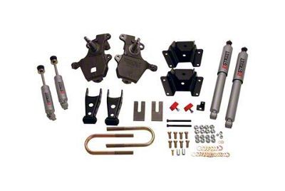 Belltech Stage 3 Lowering Kit w/ Street Performance Shocks - 2 in. Front / 4 in. Rear (97-03 2WD V8 F-150, Excluding Lightning & Harley Davidson)