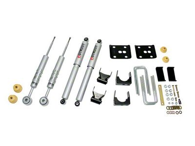 Belltech Stage 3 Lowering Kit w/ Street Performance Shocks - 2 in. or 3 in. Front / 4 in. Rear (97-03 2WD V8 F-150, Excluding Lightning & Harley Davidson)