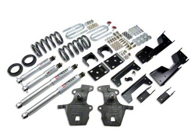 Belltech Stage 3 Lowering Kit w/ Street Performance Shocks - 4 in. or 5 in. Front / 6 in. Rear (97-03 2WD V8 F-150, Excluding SuperCrew, Lightning & Harley-Davidson)
