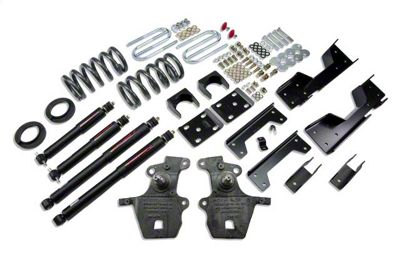 Belltech Stage 2 Lowering Kit w/ Nitro Drop 2 Shocks - 4 in. or 5 in. Front / 6 in. Rear (01-03 2WD V8 F-150 SuperCrew, Excluding Harley Davidson)