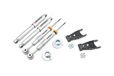Belltech Stage 3 Lowering Kit w/ Street Performance Shocks - +2 in. to - 2 in. Front / 2 in. or 3 in. Rear (04-08 4WD F-150)