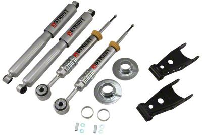 Belltech Stage 3 Lowering Kit w/ Street Performance Shocks - +1 in. to - 3 in. Front / 2 in. Rear (09-13 2WD F-150 w/ Short Bed)
