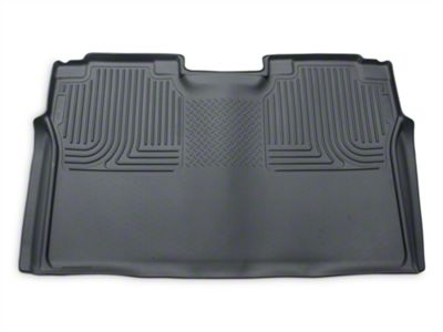 Husky WeatherBeater 2nd Seat Floor Liner - Full Coverage - Gray (15-19 F-150 SuperCrew)