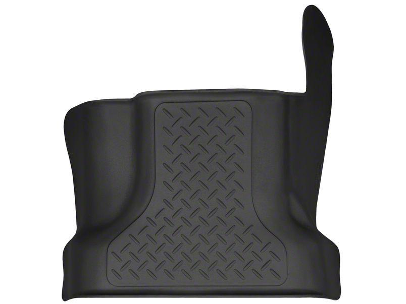 Husky X-Act Contour Center Hump Floor Liner - Black (15-19 F-150 SuperCab, SuperCrew)