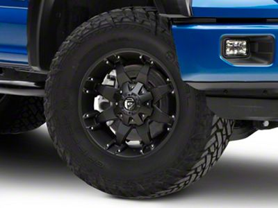 Fuel Wheels Octane Matte Black 6-Lug Wheel - 18x9 (04-18 F-150)