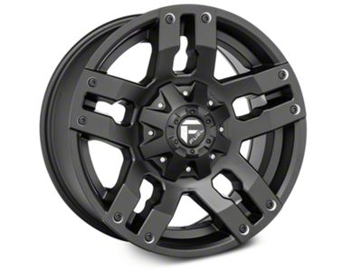Fuel Wheels Pump Matte Black 6-Lug Wheel - 18x9 (04-19 F-150)