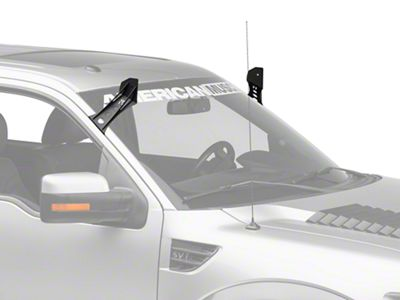 Rigid Industries 50 in. E-Series LED Light Bar Roof Mounting Brackets (10-14 F-150 Raptor)