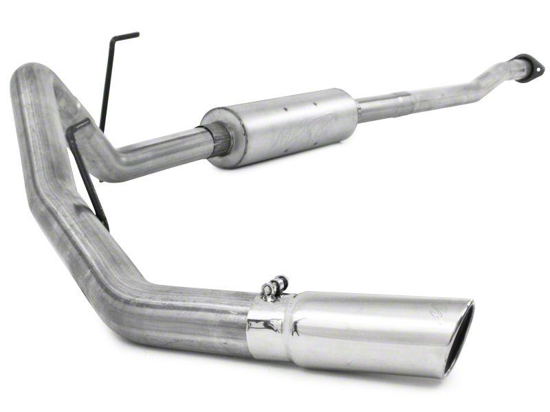 MBRP Installer Series Single Exhaust System - Side Exit (09-10 5.4L F-150, Excluding Raptor)