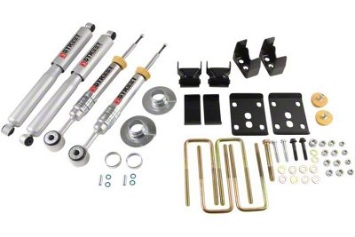 Belltech Stage 3 Lowering Kit w/ Street Performance Shocks - +1 in. to - 3 in. Front / 5.5 in. Rear (09-13 2WD F-150 w/ Short Bed)