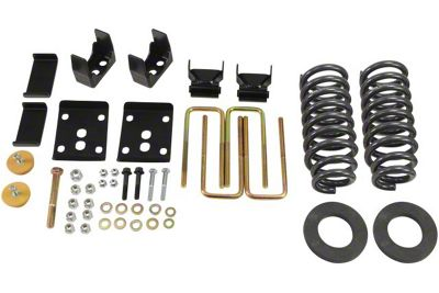 Belltech Stage 1 Lowering Kit - 2 in. or 3 in. Front / 5.5 in. Rear (09-13 2WD F-150 w/ Short Bed)