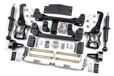 Zone Offroad 6 in. Suspension Lift Kit w/ Shocks (09-13 2WD/4WD F-150, Excluding Raptor)