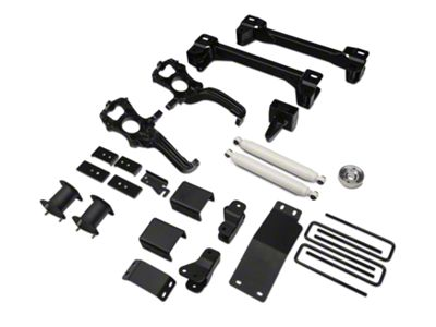 Zone Offroad 6 in. Suspension Lift Kit w/ Shocks (15-19 4WD F-150, Excluding Raptor)