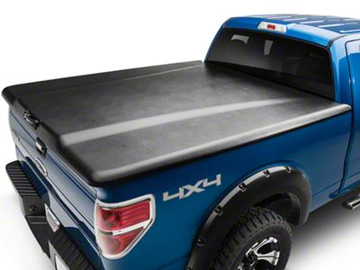 UnderCover Elite Tri-Fold Tonneau Cover - Black Textured (09-14 F-150 Styleside w/ 5.5 ft. & 6.5 ft. Bed)