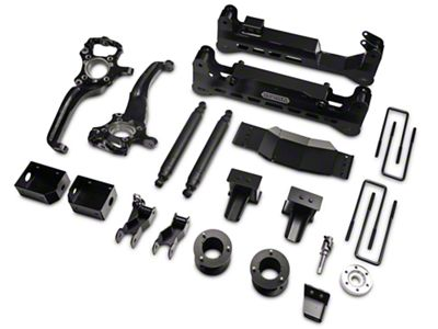ReadyLIFT 7 in. Off Road Lift Kit w/ SST3000 Shocks - Black (15-18 4WD F-150, Excluding Raptor)