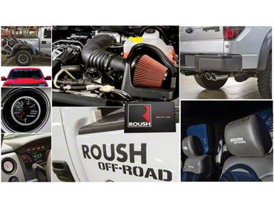 Roush R2300 525 HP Off-Road Supercharger Kit - Phase 1 (11-14 6.2L F-150 Raptor)