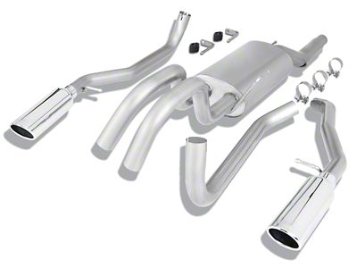 Borla Stinger S-Type Dual Exhaust System - Rear Exit (09-10 5.4L F-150, Excluding Raptor)