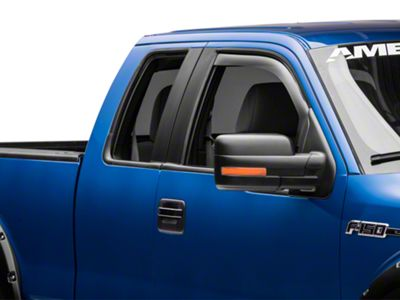 Weathertech Front Side Window Deflectors - Light Smoke (09-14 F-150)