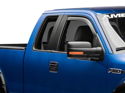 Weathertech Front Side Window Deflectors - Dark Smoke (09-14 F-150)