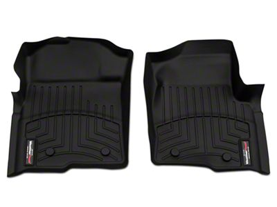 Weathertech DigitalFit Front Floor Liners - Black (09-14 F-150)
