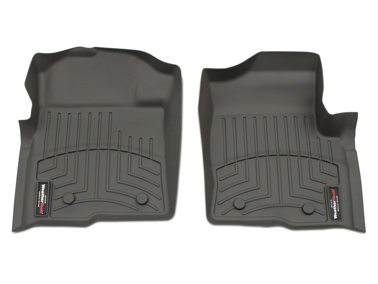 Weathertech DigitalFit Front Floor Liners - Gray (09-14 F-150)