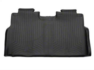 Weathertech DigitalFit Rear Floor Liner - Black (15-19 F-150 SuperCab, SuperCrew)