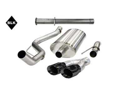 Corsa 3 in. Xtreme Side Exit Single Exhaust System - Black Pro-Series Tip (11-14 6.2L F-150 Raptor)