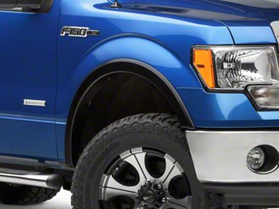Bushwacker Street Flares - Matte Black (09-14 F-150 Styleside, Excluding Raptor)