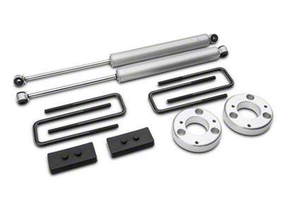 Rough Country 2 in. Leveling Lift Kit w/ Shocks (15-18 F-150, Excluding Raptor)