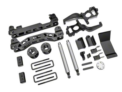 Rough Country 4 in. Suspension Lift Kit (15-19 4WD F-150, Excluding Raptor)