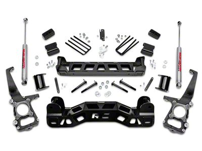 Rough Country 4 in. Suspension Lift Kit w/ Upper Strut Spacers (09-14 2WD F-150; 11-14 4WD F-150, Excluding Raptor)