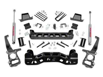 Rough Country 6 in. Suspension Lift Kit w/ Upper Strut Spacers (09-14 2WD F-150; 11-14 4WD F-150, Excluding Raptor)
