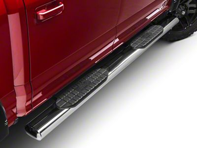 Westin 6 in. Pro Traxx Oval Side Step Bars - Stainless Steel (15-19 F-150 SuperCab, SuperCrew)