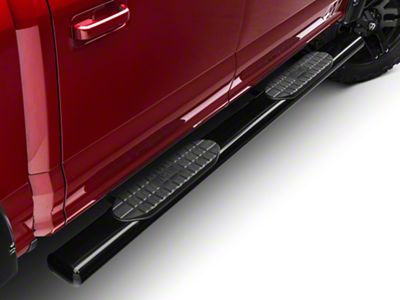 Westin Pro Traxx 6 in. Oval Tube Side Step Bars - Black (15-18 F-150 SuperCab, SuperCrew)