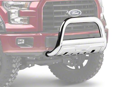 Barricade 3.5 in. Bull Bar - Polished Stainless (04-18 F-150, Excluding Raptor)