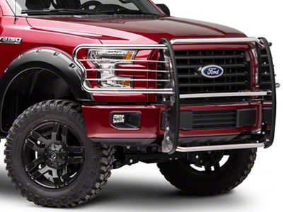Barricade Brush Guard - Polished Stainless (15-17 F-150, Excluding Raptor)