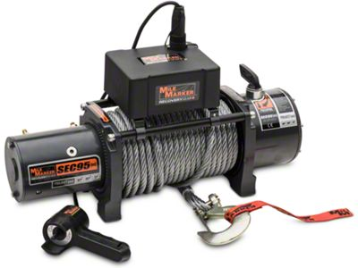 Mile Marker SEC9.5 ES 9,500 lb. Waterproof Electric Winch