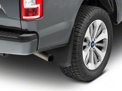 Husky Custom Molded Rear Mud Guards (15-19 F-150, Excluding Raptor)