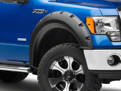 RedRock 4x4 2 in. Fender Flares - Matte Black (09-14 F-150 Styleside, Excluding Raptor)