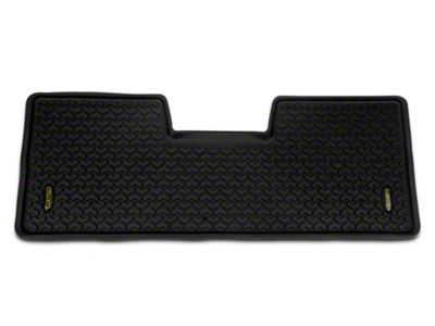 Barricade Rear Floor Liner - Black (09-14 F-150 SuperCab, SuperCrew)