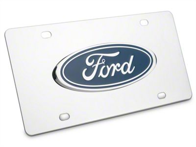 Ford License Plate - Ford Oval (97-19 F-150)