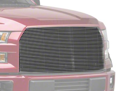 T-REX Billet Series Upper Replacement Grille - Polished (15-17 F-150, Excluding Raptor)