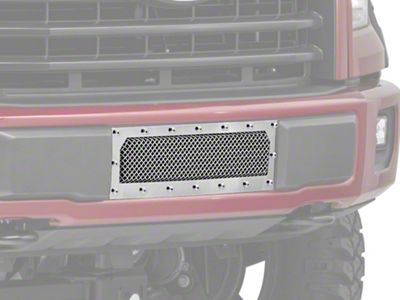 T-REX X-Metal Series Lower Bumper Mesh Grille Insert - Polished (15-17 F-150, Excluding Raptor)