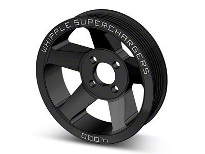 Whipple 6-Rib Supercharger Pulley (10-14 6.2L F-150 Raptor)
