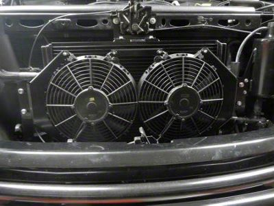 Whipple Oversize Heat Exchanger w/ Dual Fans (10-14 6.2L F-150 Raptor)